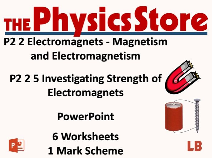 KS3 Physics AQA P2 2 5 Investigating Strength of Electromagnets Lesson Bundle