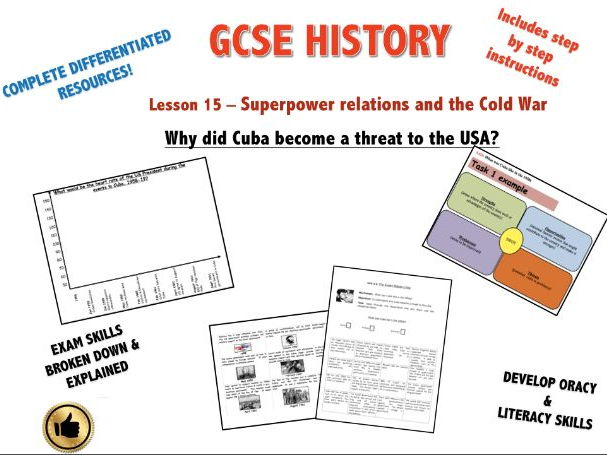 Edexcel Superpower Relations & Cold War L15 Why did Cuba become a problem for the USA?