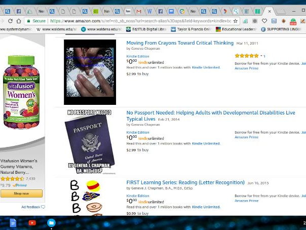 CHAPBooks: Using Skills Learned Through Reading Books to Write Books