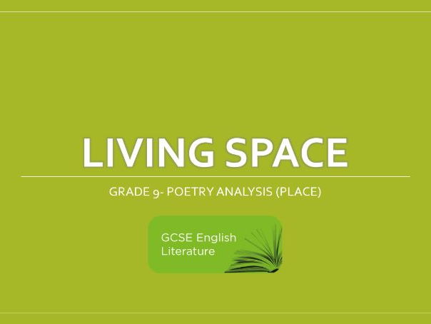 GCSE Eduqas Living Space Grade 9 Revision Notes