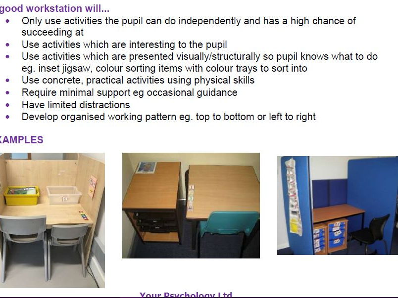 Using Workstations in the Classroom
