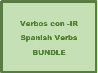 Verbos con IR (Spanish IR Verbs) Bundle