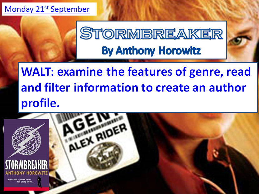 Stormbreaker by Antony Horowitz ~ First TWO lessons FREE ~ COMPLETE SCHEME AVAILABLE TO BUY