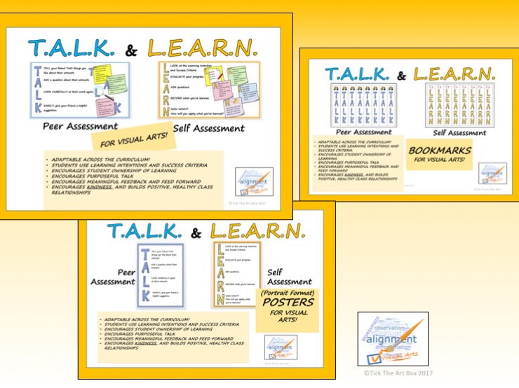 T.A.L.K and L.E.A.R.N. Peer and Self Assessment Package