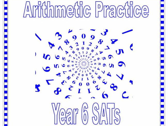 KS2 SATs Maths Arithmetic Practice Questions Addition & Subtraction including decimals