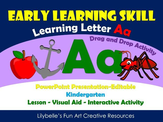 Letter Aa - Lesson - PowerPoint Presentation