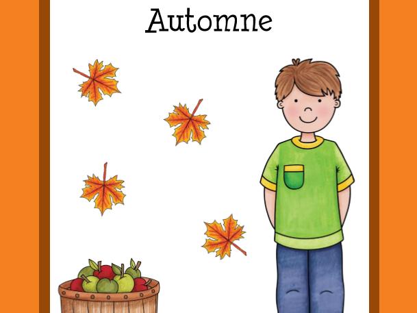 Vocabulaire d'automne  (Automn Vocabulary)