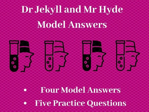 A* Dr Jekyll and Mr Hyde Model answers: GCSE Revision Pack