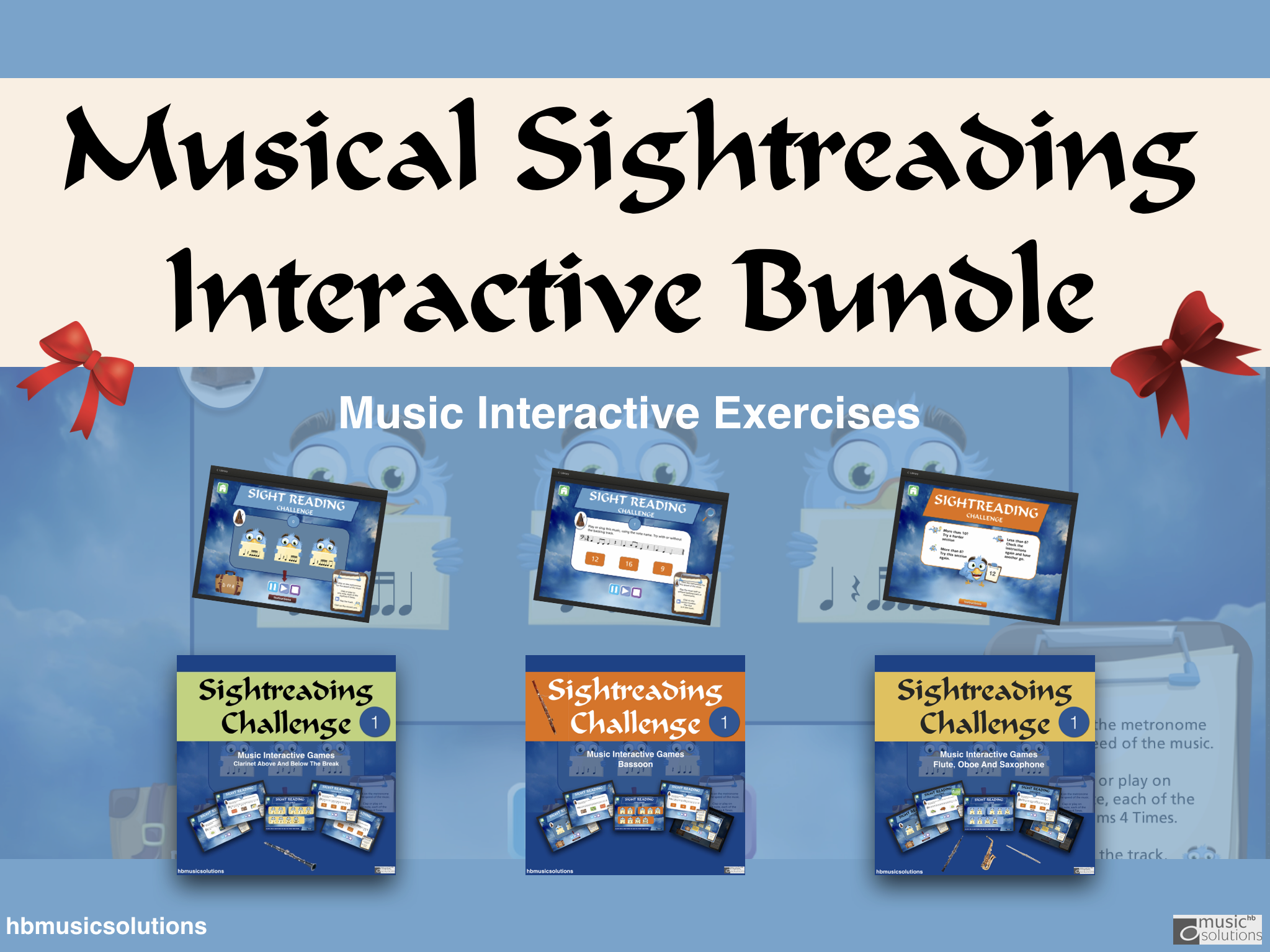 Musical Sight-reading Interactive Bundle