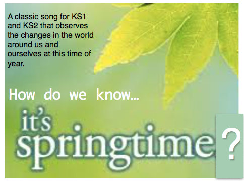 A  'feel good' Song for KS1-KS2 Spring Assemblies