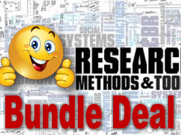 SPECIAL OFFER (Save 32%) -  Research Methods Additional Content Bundle