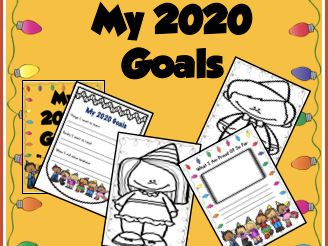 New Years Writing Activity (2020)