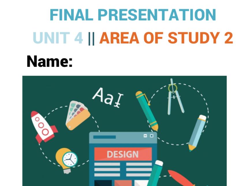 Visual Communication Design | Graphic Design |  Unit 4 | Area Of Study 2 | Planning work