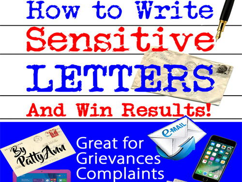 Communication Skills: How to Write Sensitive Letters to Get Results + Make Changes