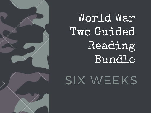 World War Two Guided Reading Bundle