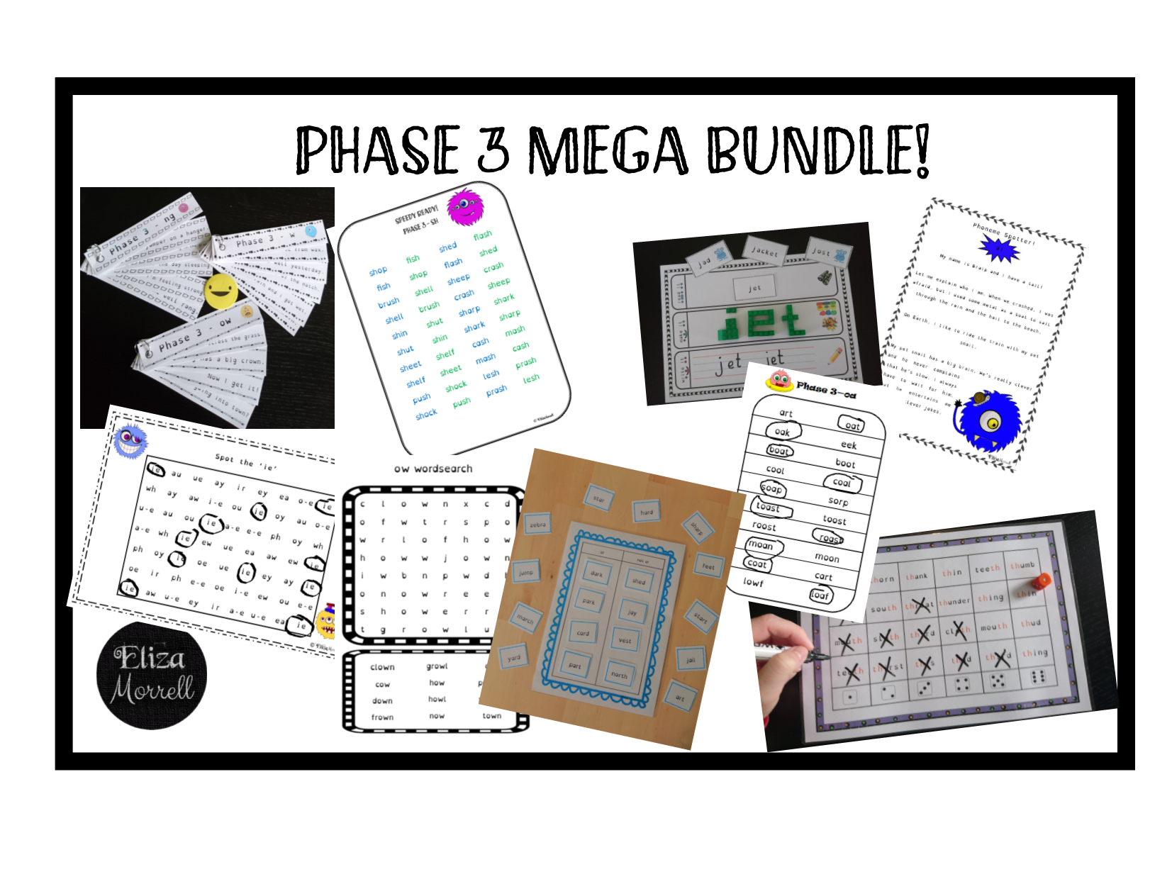 Phonics - Phase 3 ULTIMATE BUNDLE!