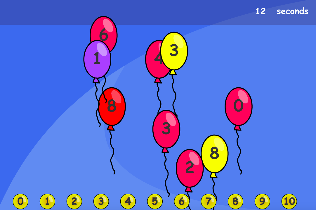 Number Matching Interactive Game - KS1 Number