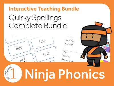 Phonics Quirky Spellings Complete Bundle