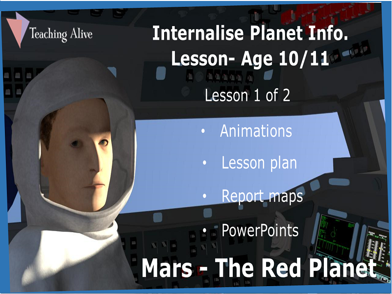 Age 10/11 Internalise Planet Info. Lesson- Animations & PowerPoints