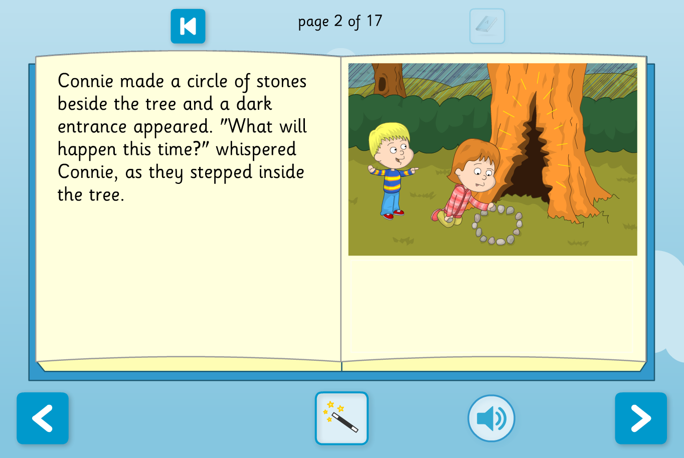 The Wizard's Assistant Interactive Storybook - Reading Level A - KS1 Literacy