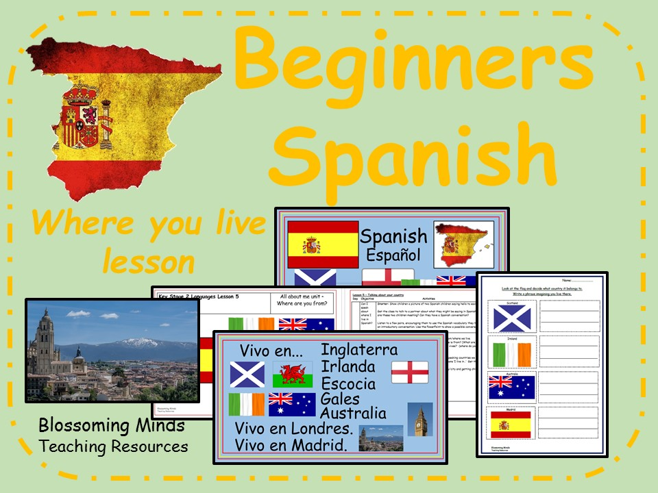 Beginners Spanish - Where you live