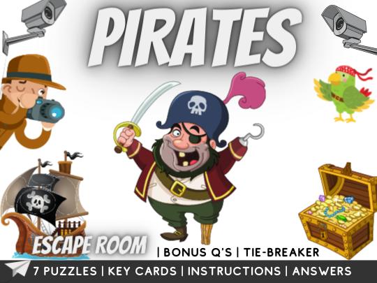 Pirates Escape Room