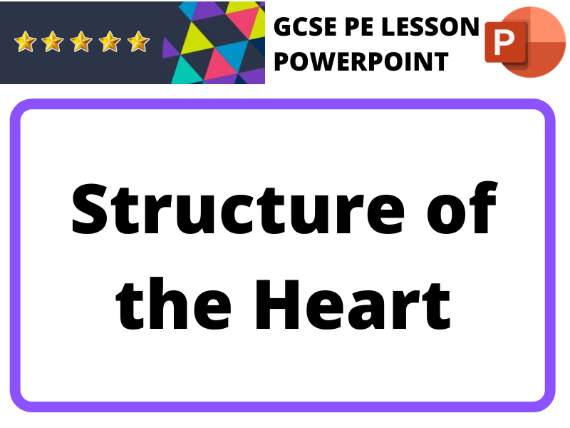 GCSE PE - Structure of the Heart (Ppt)