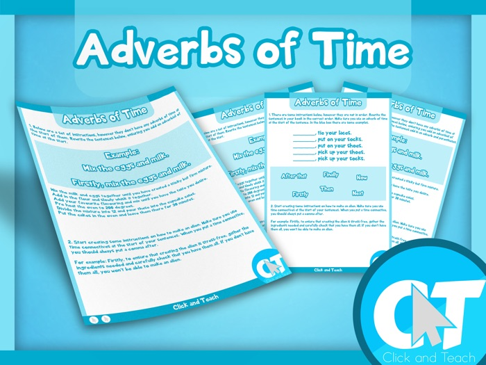 KS2 - Adverbs of Time