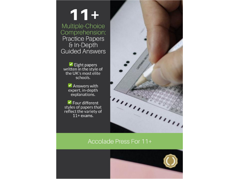 11+ Multiple-Choice Comprehension: Practice Papers & In-Depth Guided Answers
