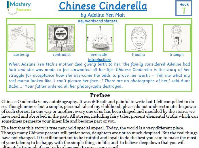 chinese cinderella comprehension ks2 by benserghin teaching resources. Black Bedroom Furniture Sets. Home Design Ideas