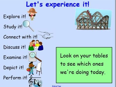 WW1 Experience Inference Activities