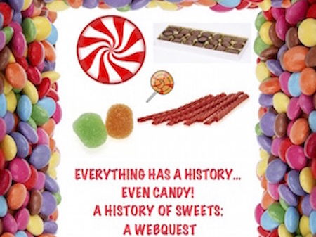 Everything has a History...Even Candy! Web quest