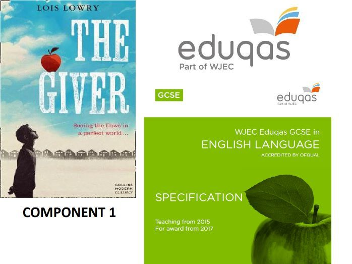 EDUQAS English Language Component 1 practice paper- The Giver