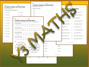 Y3 maths Worksheets: Number and Place Value
