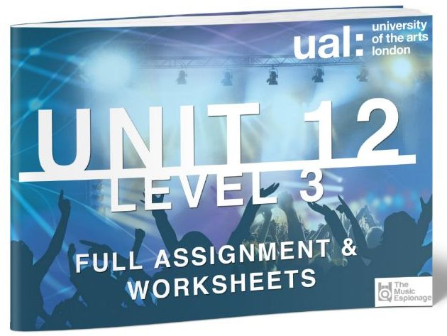 UAL-Level 3-Extended Diploma: Unit 12 - Collaborative Music Performance Project-FULL UNIT