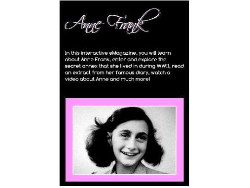 Anne Frank - Interactive eMagazine