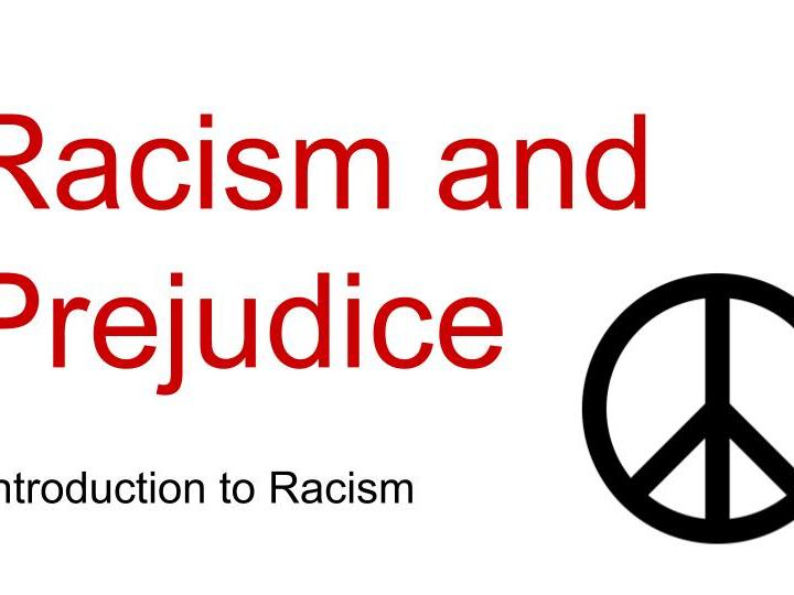 Introduction to Racism - 3 Worksheets