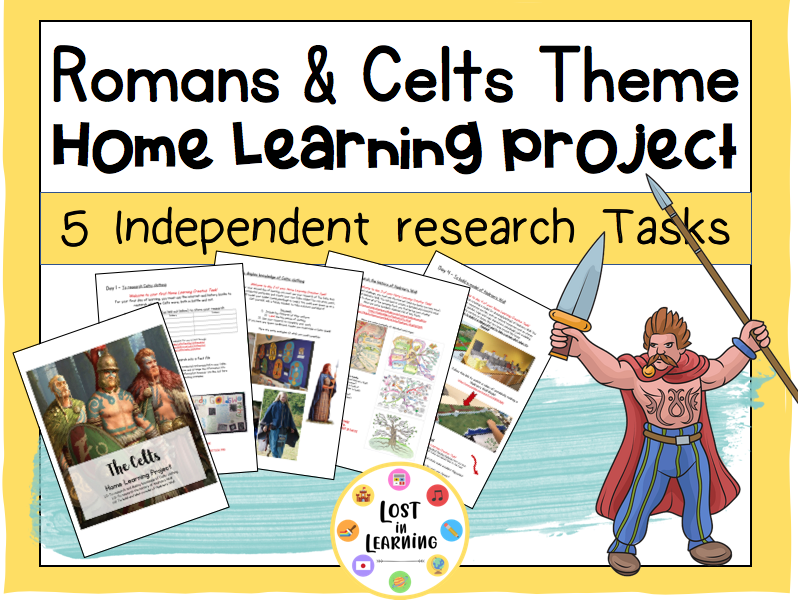 Romans & Celts: Home-Learning Project