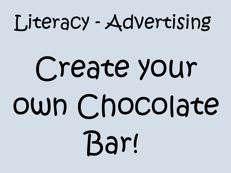 Advertising - Create Your Own Chocolate Bar