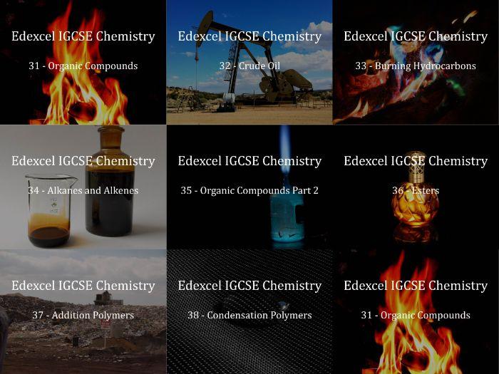 Edexcel IGCSE Chemistry Presentations Chapter 7 - Organic Chemistry