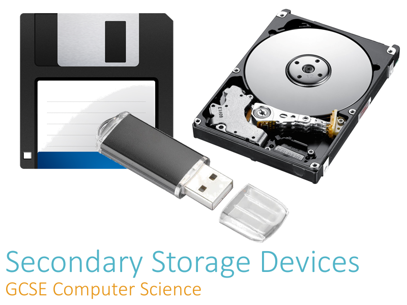 Secondary Storage Devices - Teacher Presentation