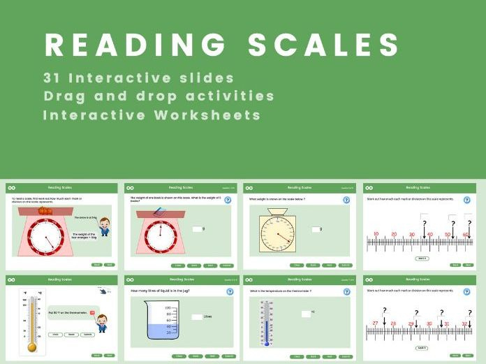 Reading Measurement Scales - Year 5 (US 4th grade)