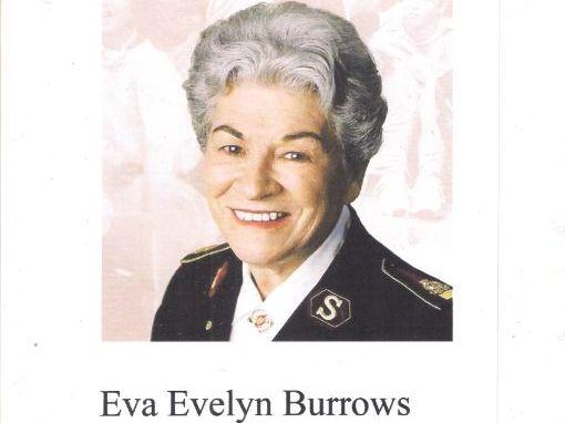 Eva Evelyn Burrows