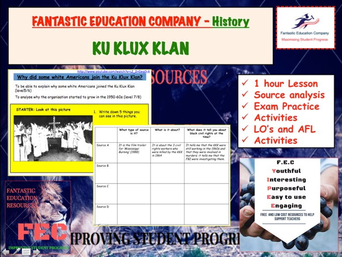 Klu Klux Klan & African American civil rights