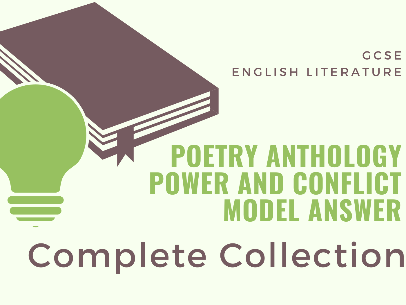Power and Conflict - Model Answers Complete Collection