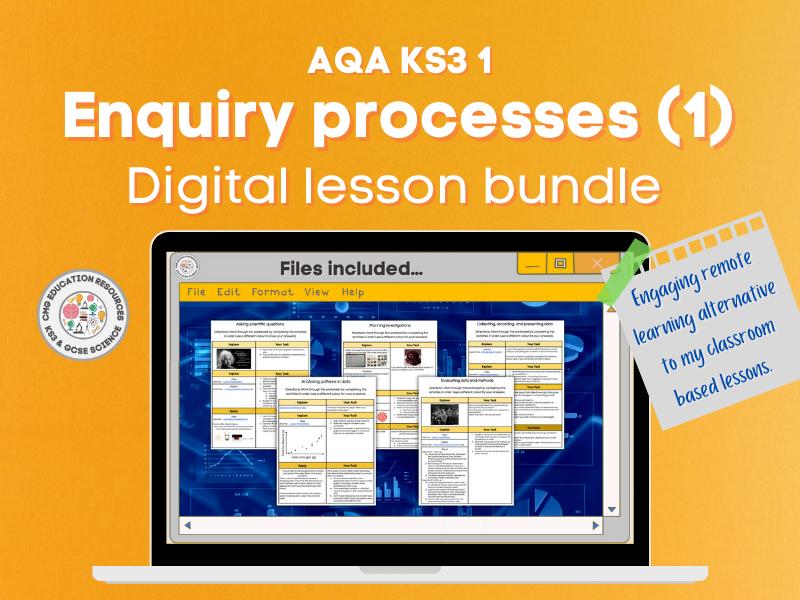 Enquiry processes 1: Digital lesson bundle (AQA KS3 1)