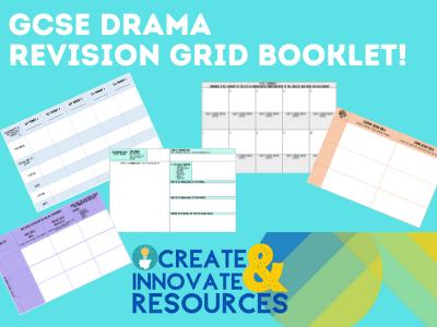 GCSE Drama Revision Grids- Written Exam