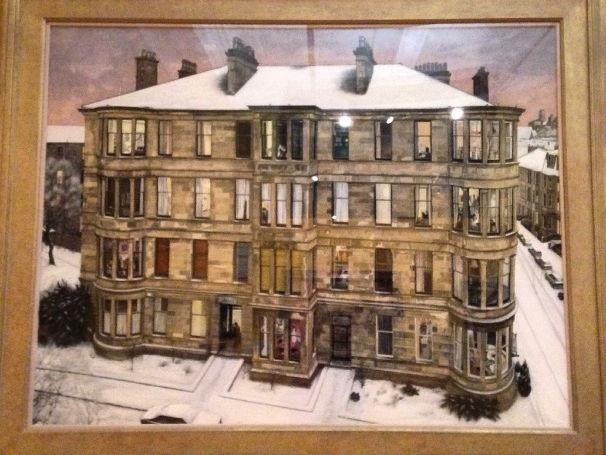 Glasgow Tenement Art Lesson Plan