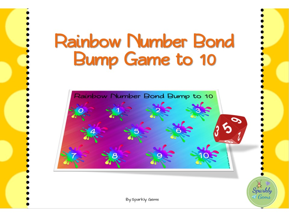 Number Bond Bump to 10 - Game