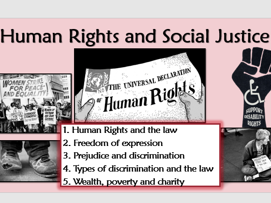 RE GCSE AQA Theme F Human Rights and Social Justice L1 Human Rights